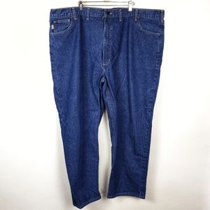 CARHARTT Flame Resistant FR Blue Work Jeans 50x32